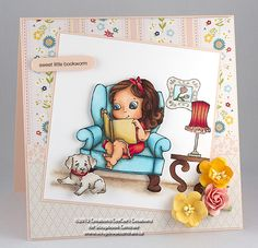 Scrapbook Centrale: mardi machin-truc: étamper avec masques et positionneur * merging and masking stamps