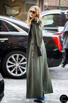 The Olivia Palermo Lookbook : Olivia Palermo At New York Fashion Week X