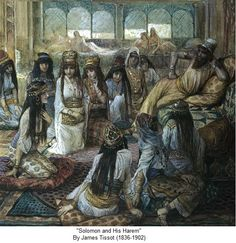 Solomon and his harem