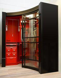 Шкаф-купе в гардеробную - Радиусные шкафы-купе «DECOLINE» г. Екатеринбург