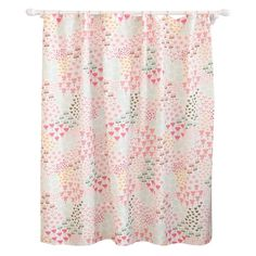 Floral Shower Curtain Multicolored - Pillowfort, Charming Green
