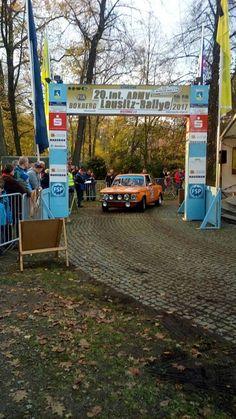 20° Int. Lausitz Rallye 02.-04.11.2017 la gara di Carlo Fiorito e Ilario Pellegrino nel cuore della Germania
