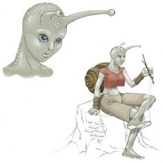 Image result for humanoid snail