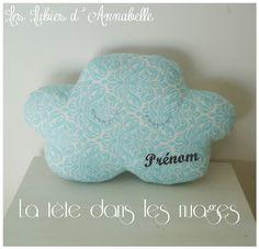 Coussin nuage/ Doudou nuage/décoration de chambre