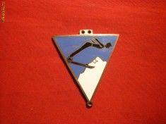 Insigna Sport- Schi -Campionate Univ.1947 Brasov / OSP Sport, Deporte, Sports