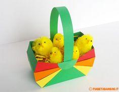Bambini pasqua ~ Cornice pasquale per decorazioni pronta da stampare gratis