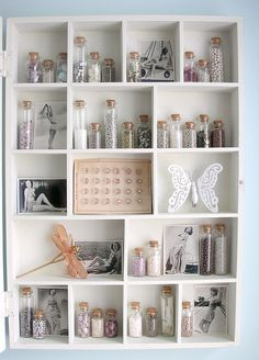 Organized- oh i'd love something like this in my sewing room