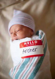 Cute photo idea for the hospital... makes a good social media announcement.