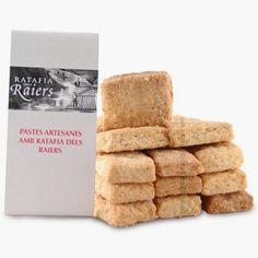 Pastes artesanes amb Ratafia dels Raiers - Postres de Músic - La Botiga Del Pallars Place Cards, Place Card Holders, Deserts