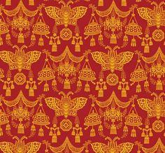 Russian 19th century pattern design.