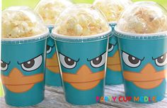 Phineas and Ferb Perry BirthdayKids Party by PartyCupMedley