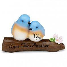 Love 3in Blue Birds on a Branch