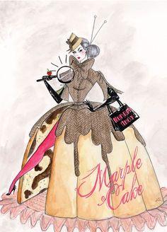 British illustrator Andrea Kett