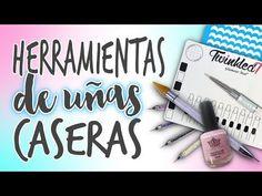 HERRAMIENTAS para DECORAR UÑAS 💅🏼 CASERAS 💅🏼 Fáciles y Económicas - YouTube Manicure, Nails, Eyeshadow, Nail Art, Youtube, Videos, Beauty, Barbie, 3d