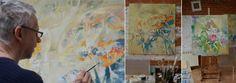 #AdamPoltorak #painting #studio #workinprogress