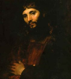 "Rembrandt Jesus | Image: ""Head of Christ"" (No. 3) by Rembrandt Van Rijn."