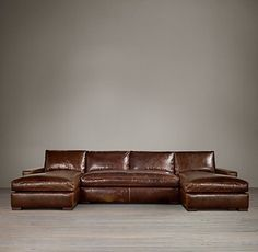 Leather U-Chaise Sectional Sat on this and fell in love. Maxwell Leather U-Chaise SectionalSat on this and fell in love. Maxwell Leather U-Chaise Sectional