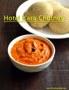 Hotel style kara chutney