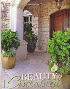 ...in Oklahoma Gardener Magazine l Unique by Design