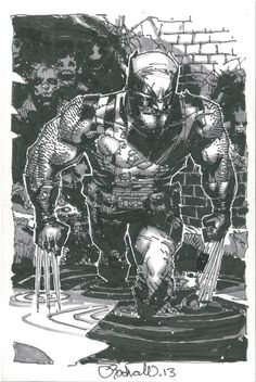 Wolverine by Chris Bachalo