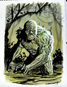 Swamp Thing by Greg Smallwood