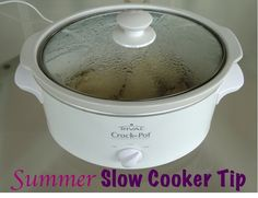 Summer Slow Cooker Tip from TheFrugalGirls.com