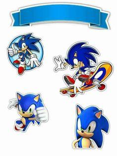 - Oh My Fiesta! for Geeks Sonic Birthday Cake, Sonic Birthday Parties, Sonic Party, Bolo Sonic, Sonic Cake, Sonic The Hedgehog Cake, Hedgehog Birthday, Cake Templates, Sonic Adventure