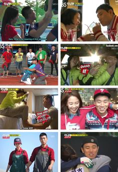 Monday Couple (Song Ji Hyo & Kang Gary)