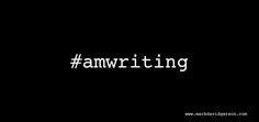 #amwriting. Are you? (Need help? Look up my books/services for writers at www.markdavidgerson.com)