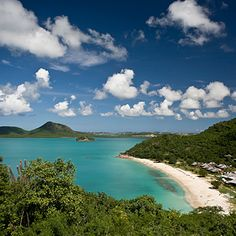 Why we love it: With a stunningly rugged coastline dotted with hidden bays, this arid island known as the gateway to the Caribbean is home to 365 white-sand beaches.