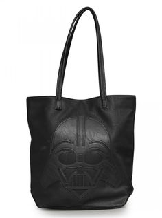 """Star Wars Darth Vader"" Tote Handbag by Loungefly (Black) #inkedshop #starwars #darthvader #geek #maytheforcebewithyou #handbag #tote #fashion"