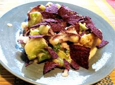 Blue Corn Chip Crusted Cauliflower Gratin + a GIVEAWAY