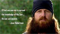 Can I getta Amen!  jase robertson