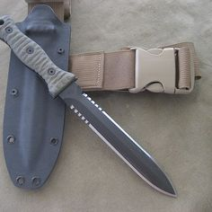 Gallery contains photos of pasts Miller Bros. Blades Custom Made Knives and swords, One of a kind blades and Modified Current Models. Tactical Knives, Tactical Gear, Tactical Clothing, Assassin's Creed Hidden Blade, Doomsday Survival, Outdoor Survival Gear, Battle Axe, Combat Knives, Military Weapons