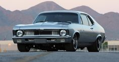 "1970 ""Fesler"" built Chevrolet Nova LS-7 SS - Smokin' hot custom American muscle car. See the video for details"