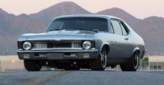 "1970 ""Fesler"" built Chevrolet Nova LS-7 SS - Smokin' hot custom American muscle car. See the video for details"