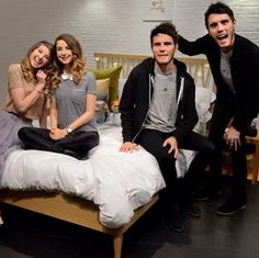 I JUST DIED, SAW THIS PICTURE, AND THEN DIED AGAIN!!!!! THATS HOW REAL THOSE WAX FIGURES LOOK oh and also i ship zalfie! :3