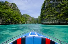 Thailand Phi Phi Boat