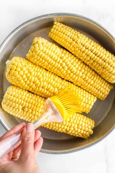 Easy Corn Recipes, Healthy Gluten Free Recipes, Vegan Recipes, Cooking Recipes, Air Fry Chicken Wings, Appetizer Recipes, Appetizers, Fried Corn, Roasted Corn