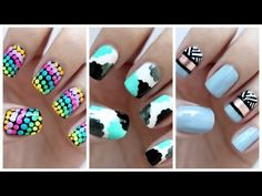 Time For Another Easy Nail Art Beginners Video Thumbs Up If You Would Like To See One Next Month Let Me Know Which Mani Is Your Fav