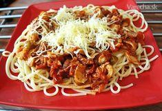 Najsamlepšia omáčka na špagety/penne