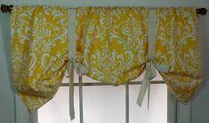 Brown Valance Curtains Ideas