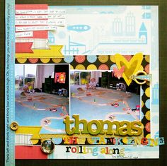 Layout by Christy Strickler using inspiration from the Simple Scrapper membership @emeraldvalkyrie