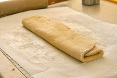 Simple from scratch puff pastry.