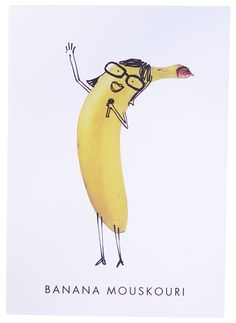 So simple and yet so funny. In the serie: 'You'll never guess who I bumped into in the Harvey Nichols Foodmarket?'