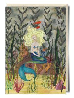 Mermaid - Card by Scott Keenan
