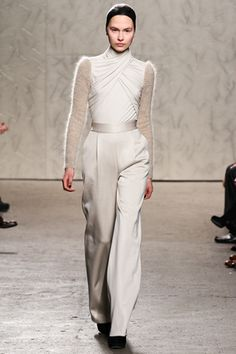 Dying over the soft white Doo. Ri Fall 2012 RTW
