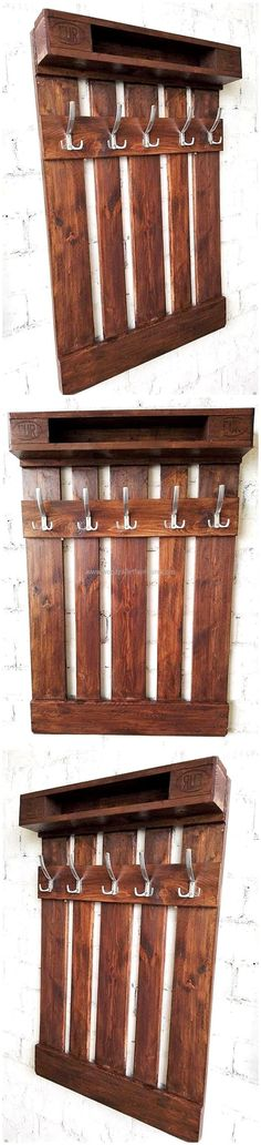 Teds Wood Working - pallet clothes hanger idea Get A Lifetime Of Project Ideas & Inspiration!