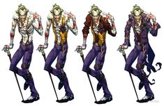 View an image titled 'Joker Concept Art' in our Batman: Arkham City art gallery featuring official character designs, concept art, and promo pictures. Batman Arkham City, Joker Batman, Joker Y Harley Quinn, Batman Art, Joker Arkham, Gotham, Joker Character, Batman Universe, Marvel Universe