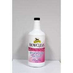 Absorbine Showclean 950mL Whitening, Vodka Bottle, Barn, Cleaning, Products, Converted Barn, Home Cleaning, Barns, Shed